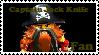 Captain Jack Knife Fan Stamp by BobBricks