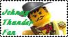 Stamp - Johnny Thunder Fan by BobBricks