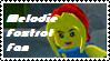 Stamp - Melodie Foxtrot Fan  by BobBricks