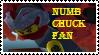 Stamp - Numb Chuck Fan by BobBricks