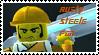Stamp - Rusty Steele Fan by BobBricks