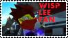 Stamp - Wisp Lee Fan by BobBricks