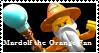 Stamp - Mardolf the Orange Fan by BobBricks