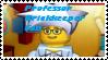 Stamp - Professor Brickkeeper Fan by BobBricks