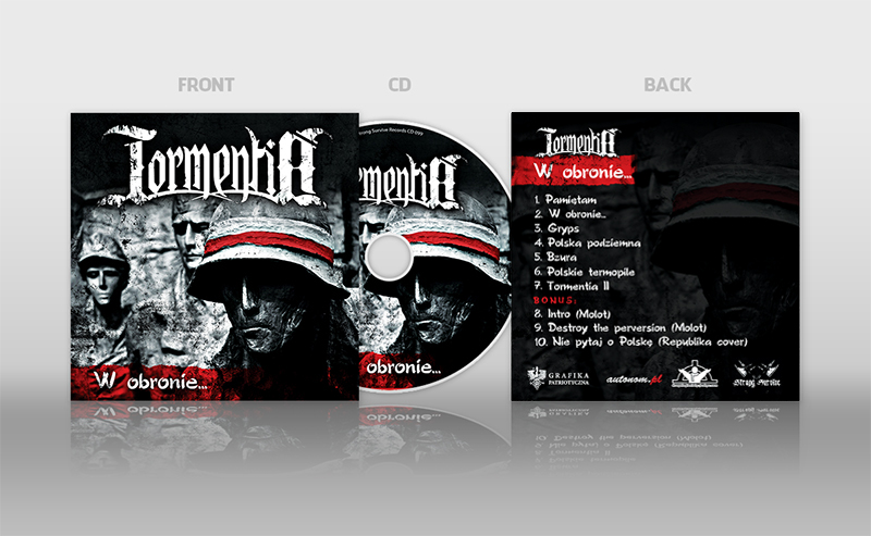 tormentia cd cover design presentation by n4020 on deviantart