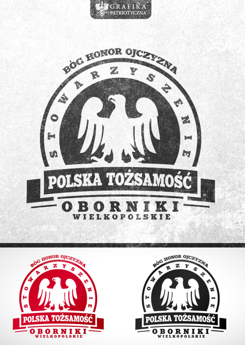Regional patriotic organization logo presentation by N4020