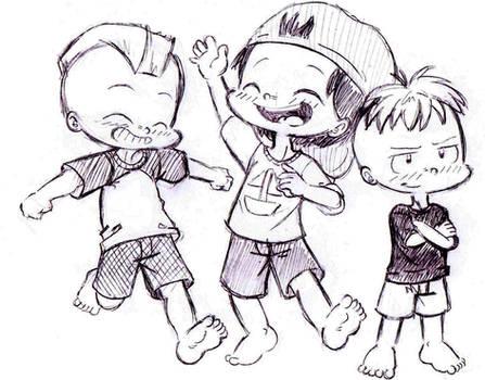blu3smok3: Brian, Ryan and Keven