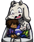 Undertale: Mama Goat and Kids!