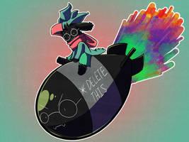 Deltarune: Ralsei drops the bomb! by Neloku