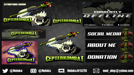 Twitch Package Commissions: Open