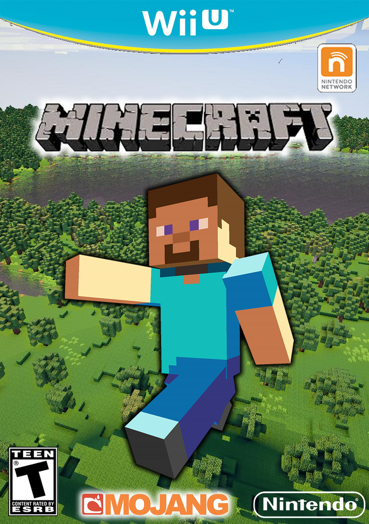 Photoshopd Wii U Game Cases - Minecraft online spielen wii u