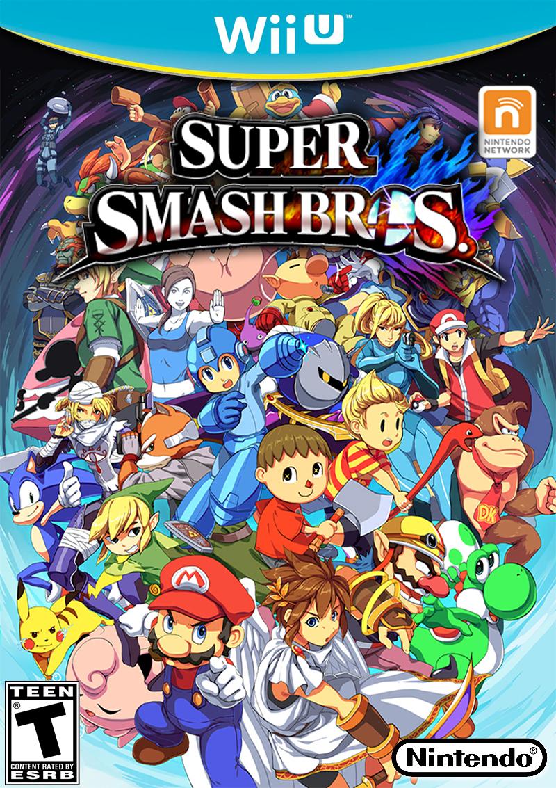 Smash Bros Wii U : Super smash bros wii u by ceobrainz on deviantart