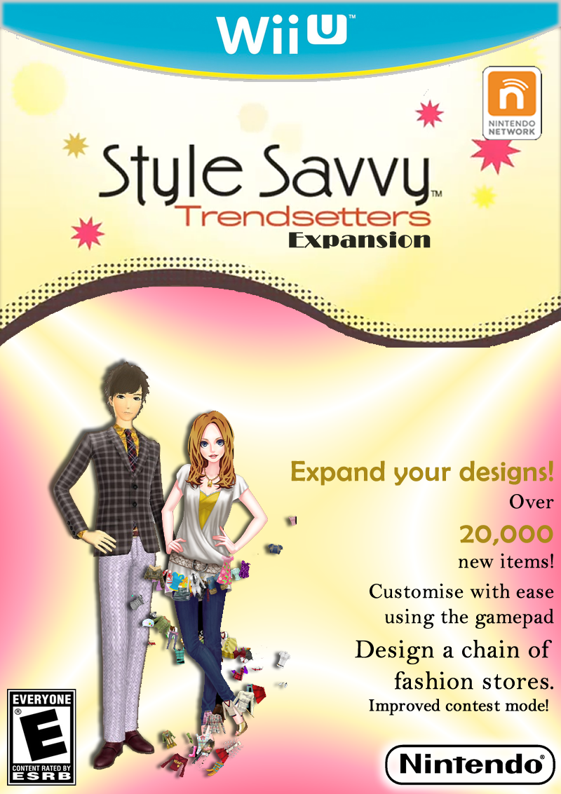 Style Savvy Trendsetters Expansion Wii U By CEObrainz On