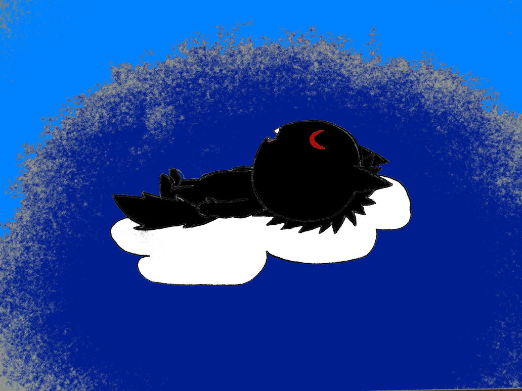 me sleeping on a cloud by aohoshi2008 on deviantart. Black Bedroom Furniture Sets. Home Design Ideas