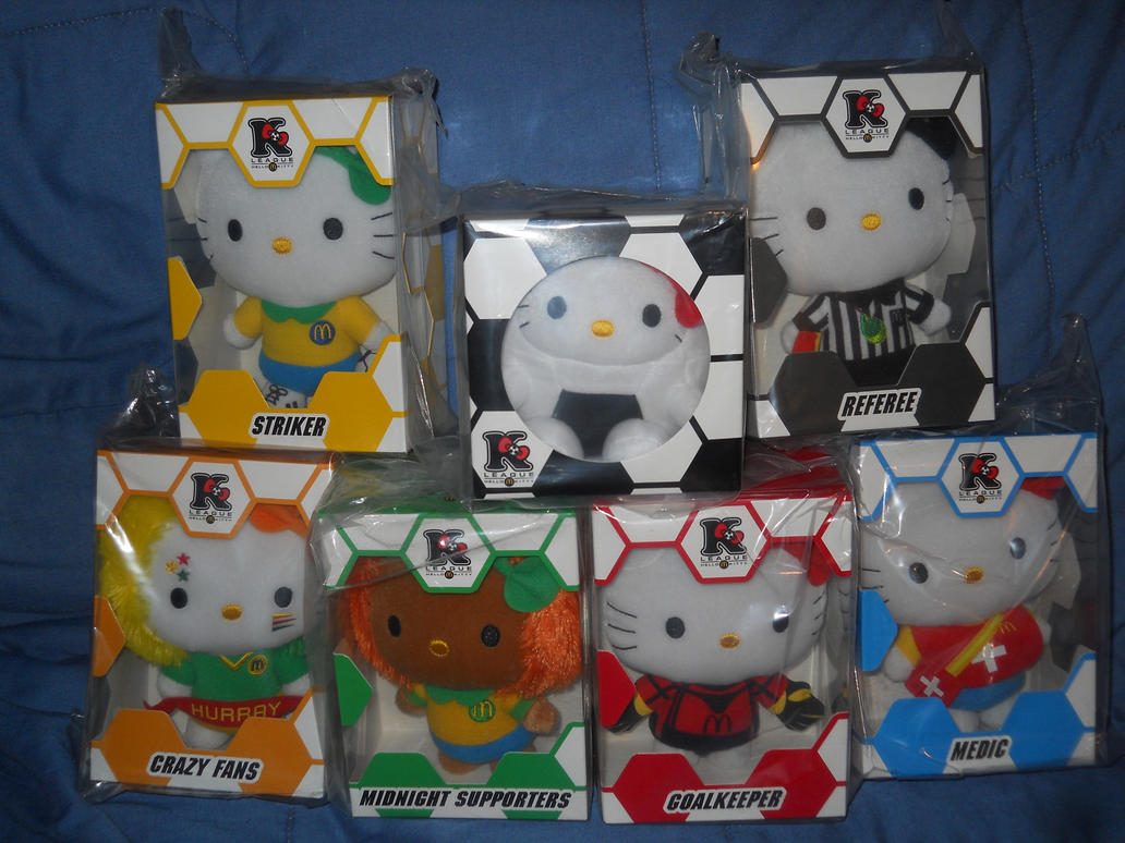 Mcds Hello Kitty World Cup 2014 Complete Set By