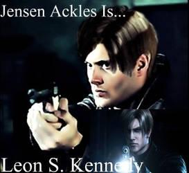 Jensen Ackles Is...Leon S. Kennedy