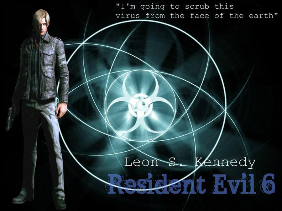 Leon S. Kennedy...