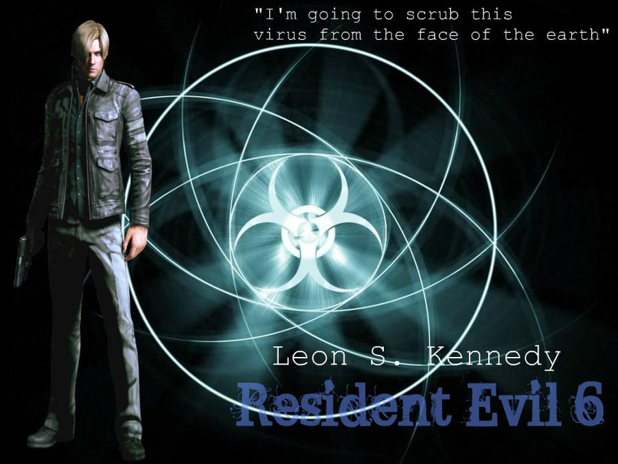 Leon S Kennedy Resident Evil 6 Wallpaper By Gravecradle88 On