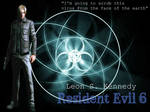 Leon S. Kennedy Resident Evil 6 Wallpaper by GraveCradle88