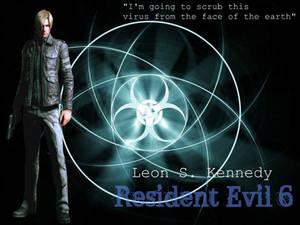 Leon S. Kennedy Resident Evil 6 Wallpaper
