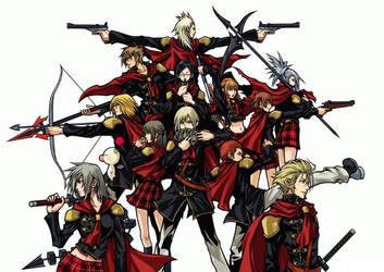 Final Fantasy Type-0, Class Zero