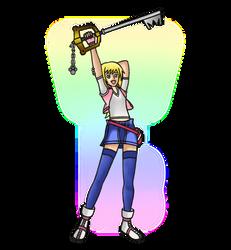 Roxy (Updated In Kingdom Hearts Style)