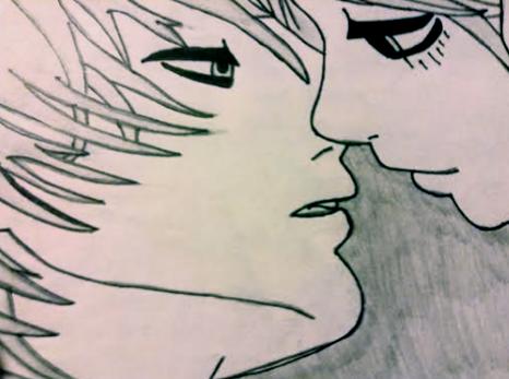 Kiss by WhiteBleedingFox