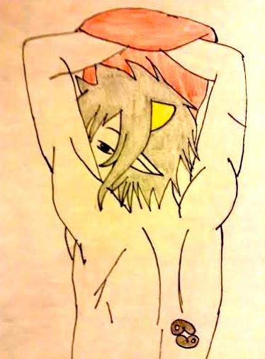 Shirtless Karkat [HS] by WhiteBleedingFox