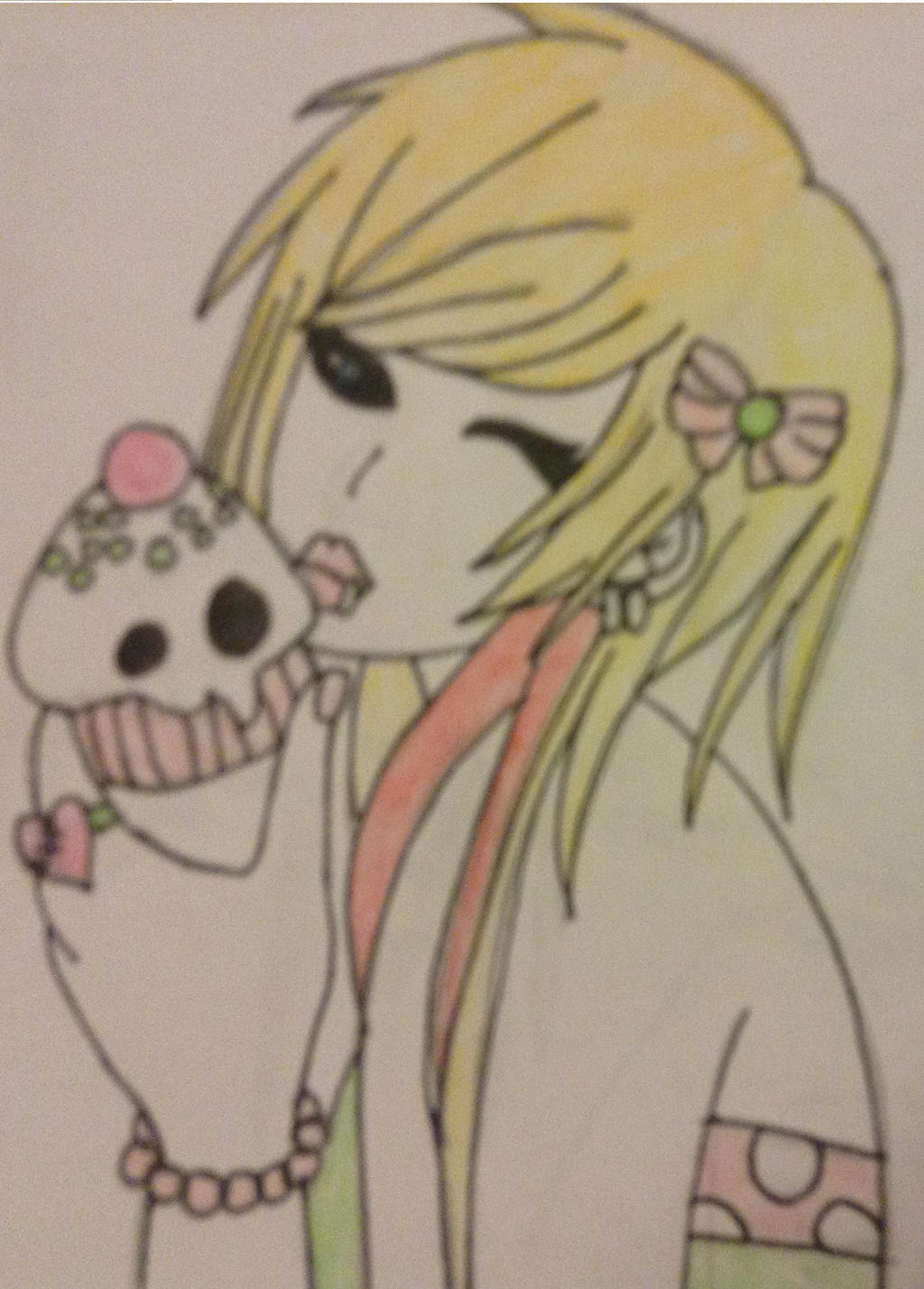 Emo Cutie by WhiteBleedingFox