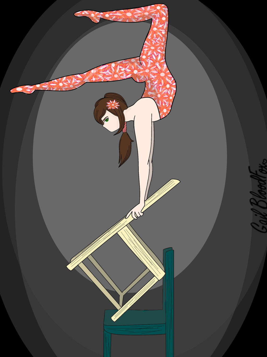 Acrobat by WhiteBleedingFox