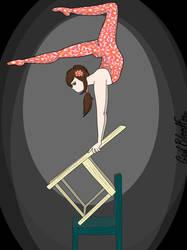 Acrobat by WhiteBleedingFox