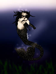 Mermaid by WhiteBleedingFox