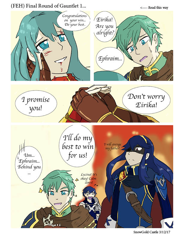 Final Round Gauntlet - FEH by SnowGoldCastle