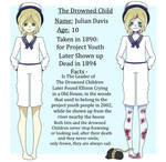 Creepypasta oc - The Drowned Child Ref by SexyLittleDiva