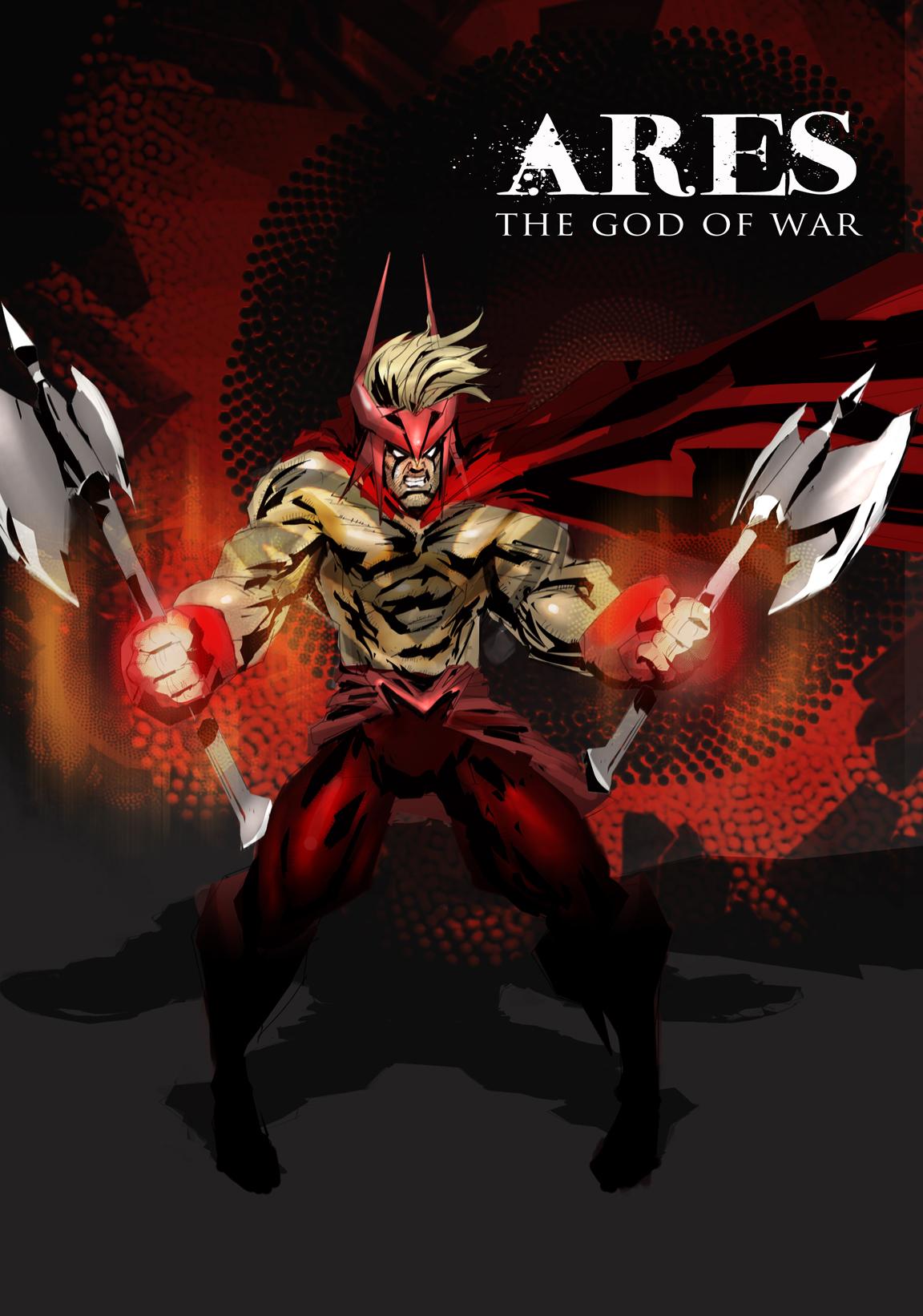 ARES God of War by prmn on deviantART