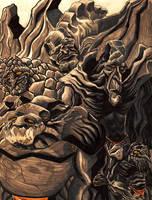 Discworld Trolls by IngDamnit