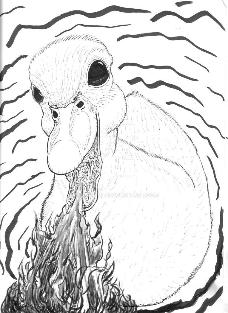 Firebreathing Duck by IngDamnit