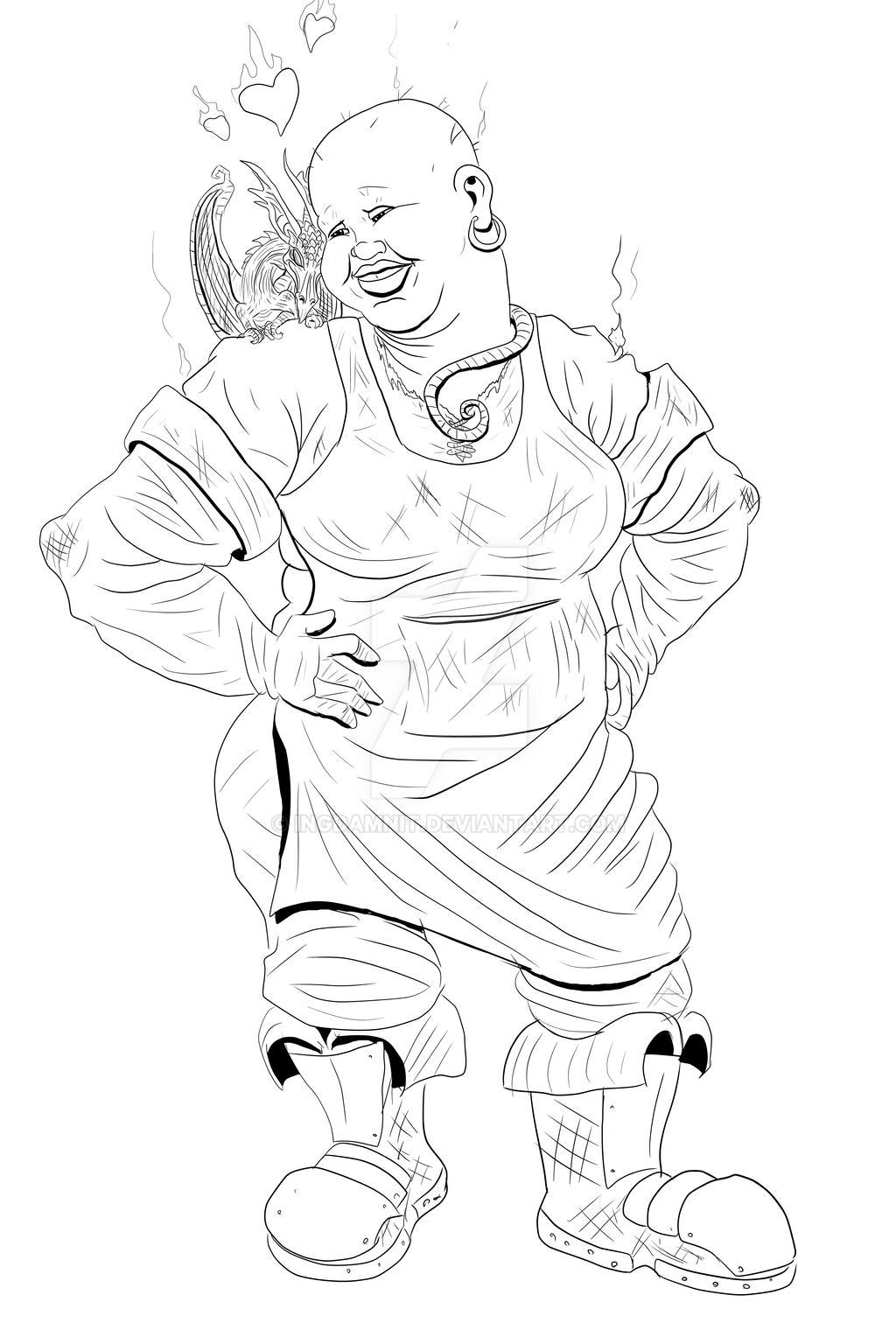 Lady Sybil Ramkin Vimes by IngDamnit