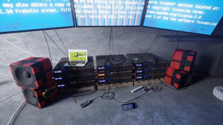 Makeshift datacenter