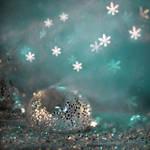 snowstorm under the sea