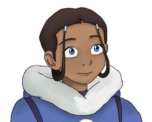 The Legend Of Aang: Katara portrait