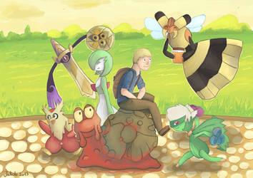 My new Pokemon party!