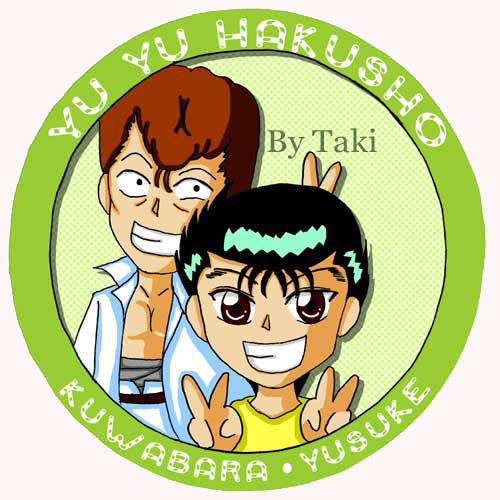 yuyu hakusho  pin series no 5 by buseiohtaki