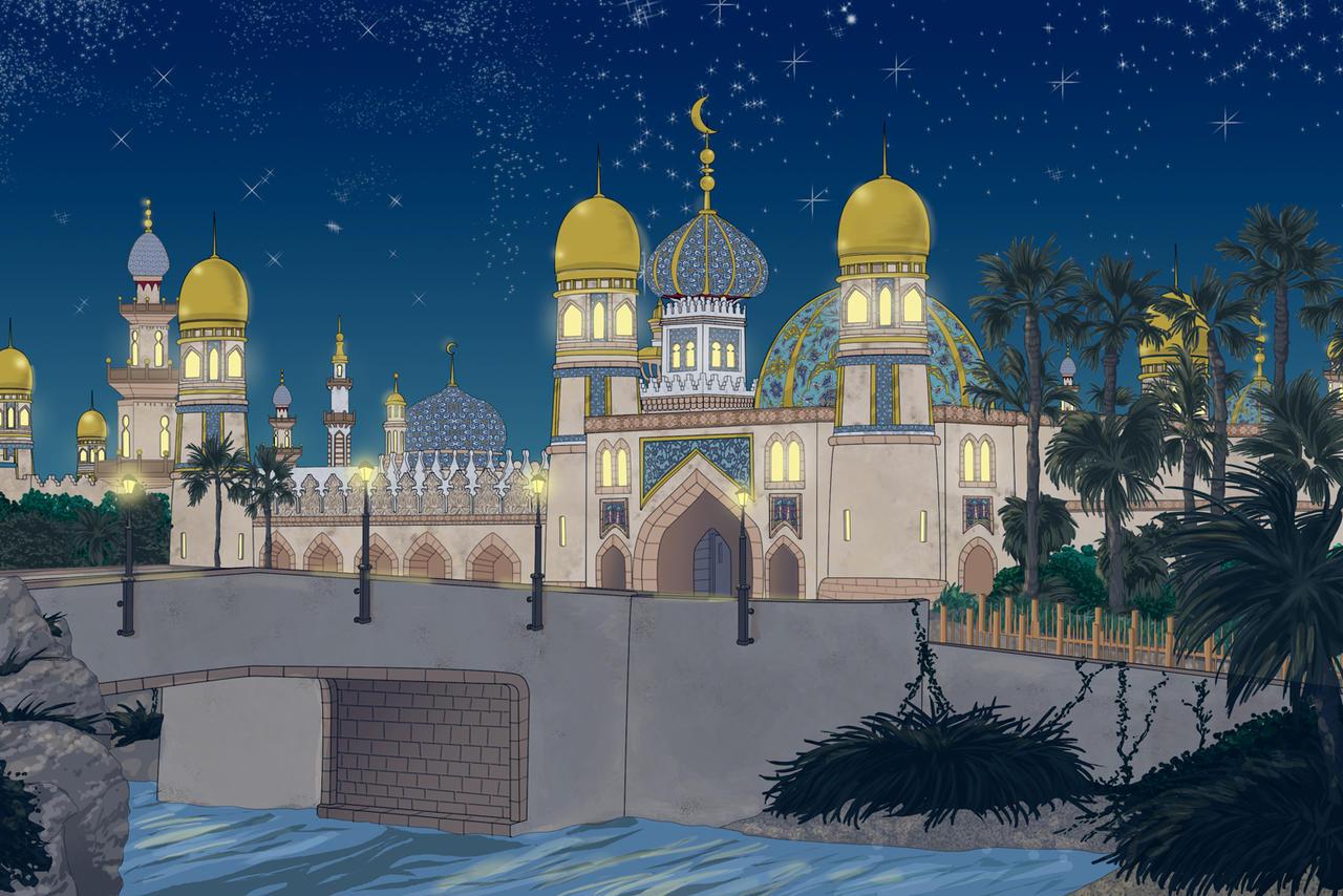Arabian Nights by Ali-Shobbar