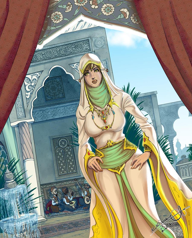 Arab princess i am a dicksucker for a qb 9