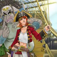 furry pirate