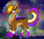 fan art of Darkeh123's fursona by XxTOxiCfoX5555551xX