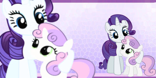rarity and sweetie bell wp