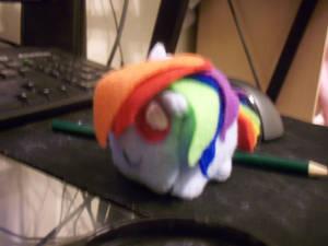 rainbow dash cube