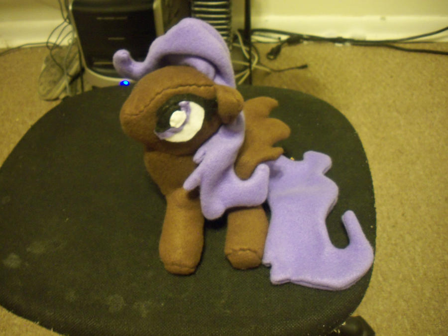 Commission pony oc plush by XxTOxiCfoX5555551xX